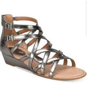 NWOB b.o.c mimi wedge sandals